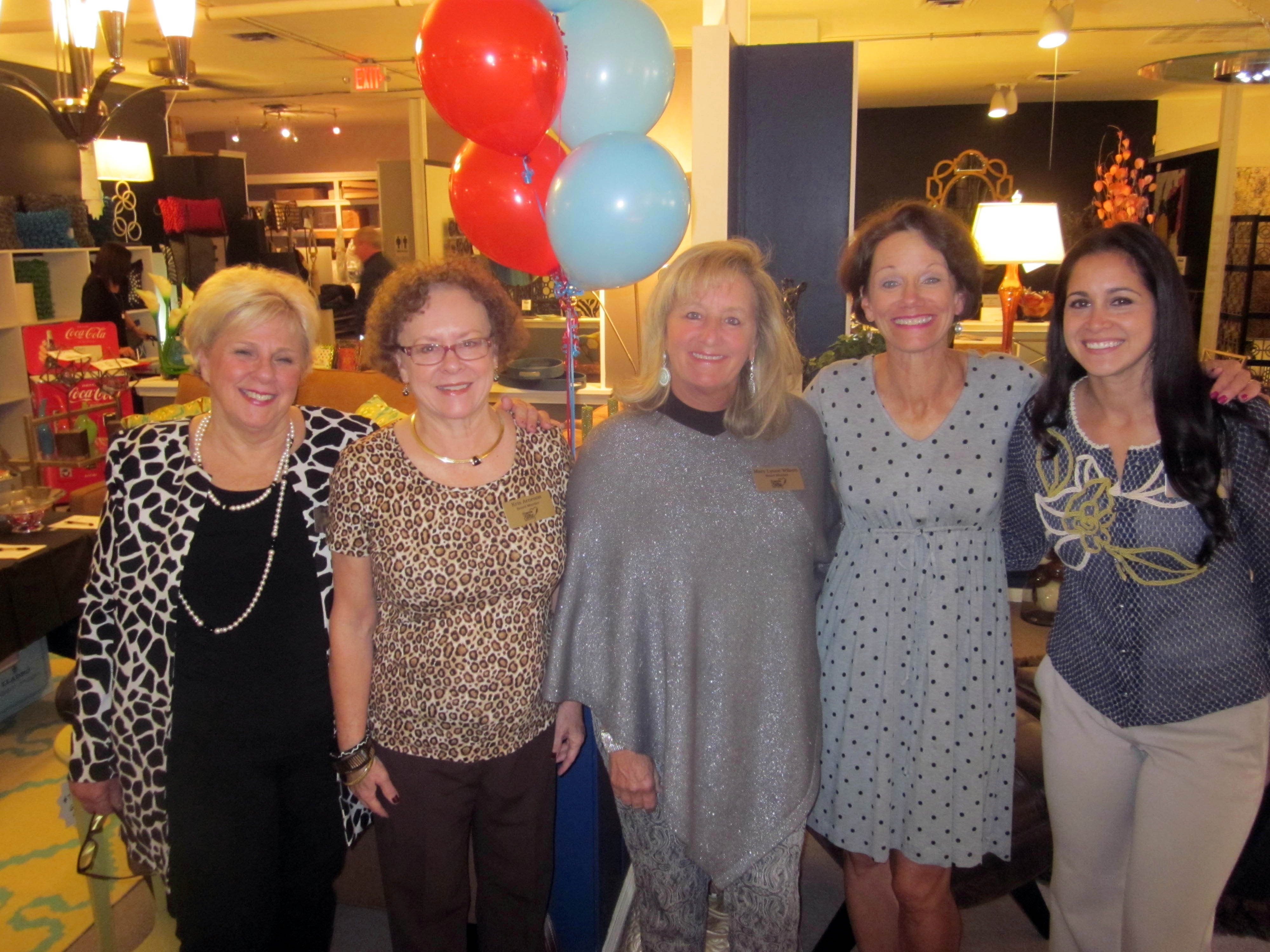 Friends of Kids with Cancer Decor Interiors Jewelry hosts
