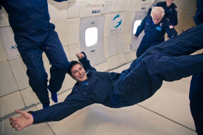 Cartmell in Zero-G